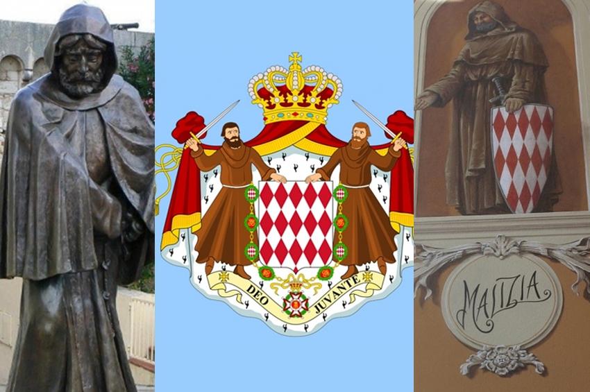 Călugării franciscani înarmați - simbolul statului Monaco