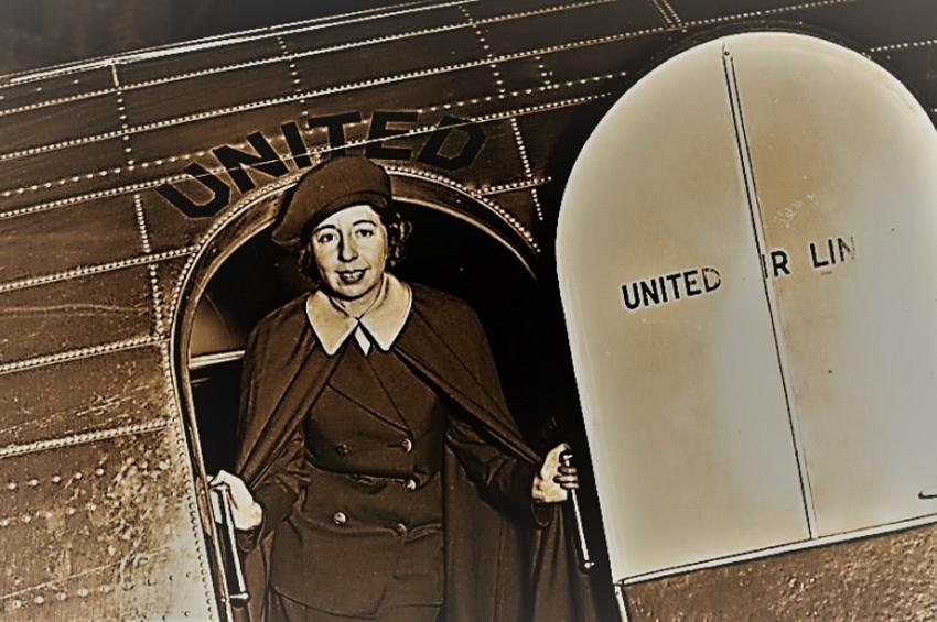 Ellen Church - domnișoara care a inventat meseria de stewardesă