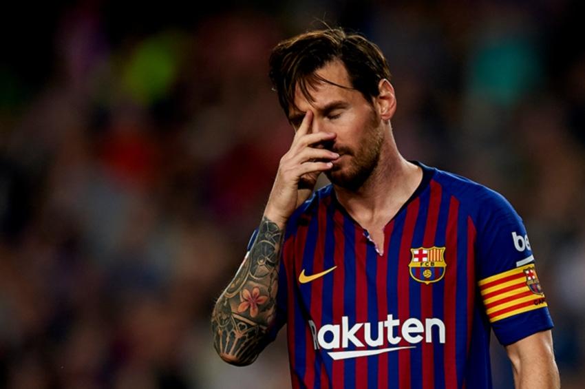 Banderola lui Messi