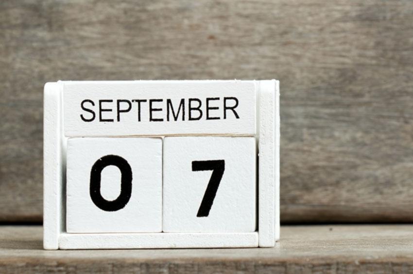 De ce septembrie este luna a noua din calendar și nu a șaptea, așa cum îi este denumirea