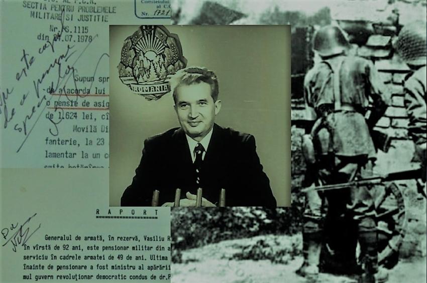 Doi veterani de război și dubla măsură a lui Ceaușescu