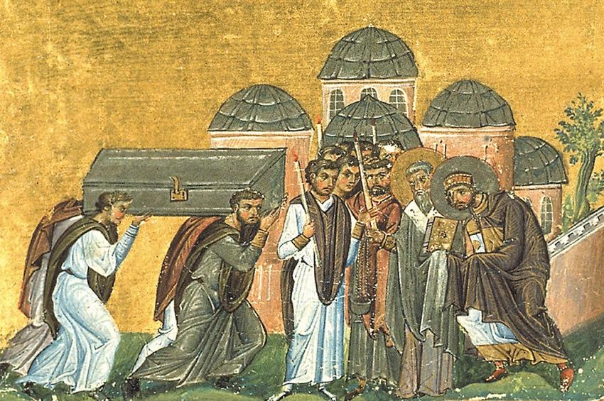 Mormântul pierdut al primului împărat creștin