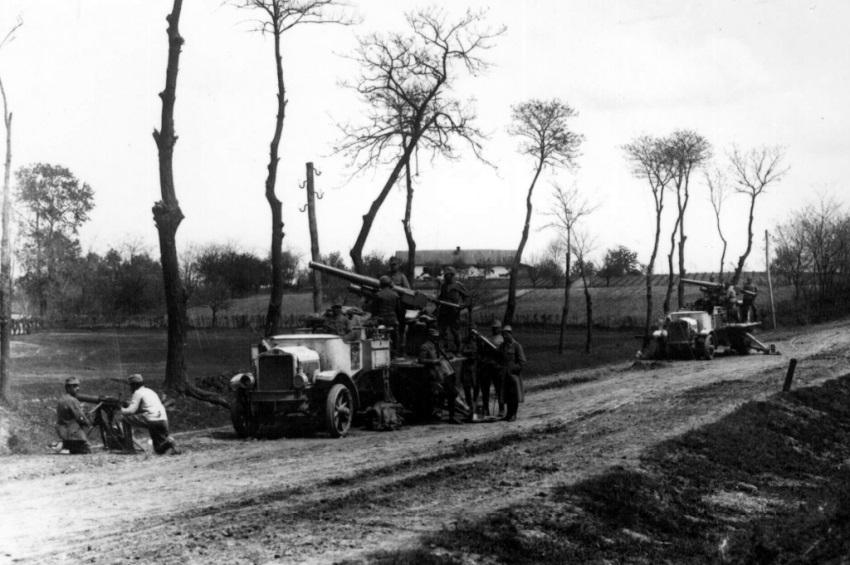 Artileria antiaeriană română în Campania din Ungaria (1919)