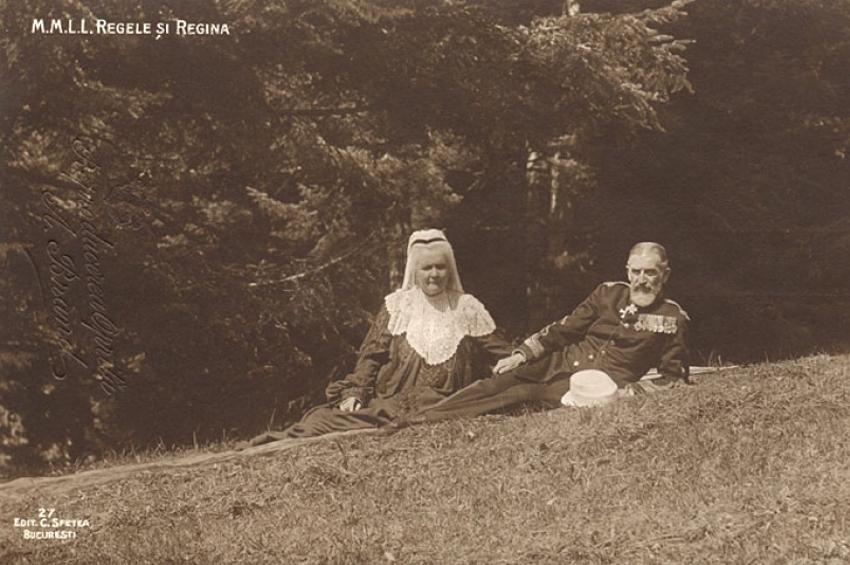 Carol I văzut de adjutanții regali Paul Angelescu și Gheorghe P. Georgescu