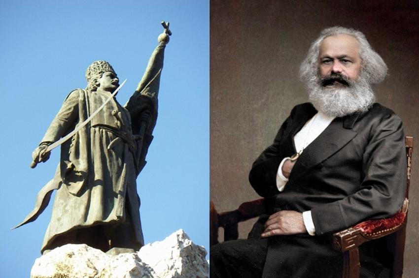 """""""Vladimirescu era patriot român!"""" Karl Marx despre ruși, eteriști și revolta pandurilor din 1821"""